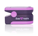 Zacurate 500DL Pro Series Fingertip Pulse Oximeter (Royal Purple) - Med Shop and Beyond