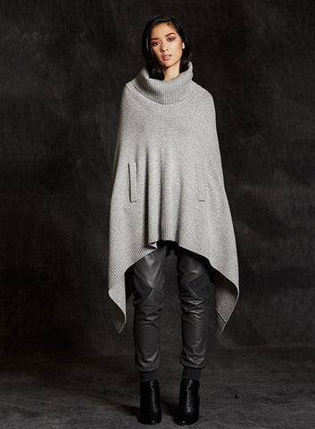 """Grace""Wool and Cashmere Get Over It Cape"