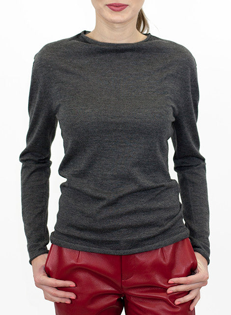 """Jordi"" Cashmere Mock Neck Sweater"