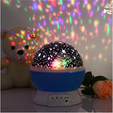 Starry LED Night Light Projector