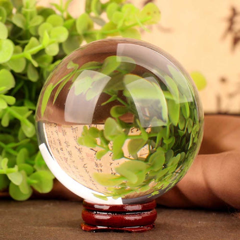 40mm Small Clear Crystal Ball