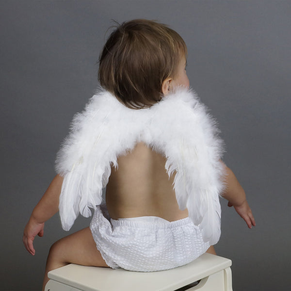 Infant Feather Angel Wings