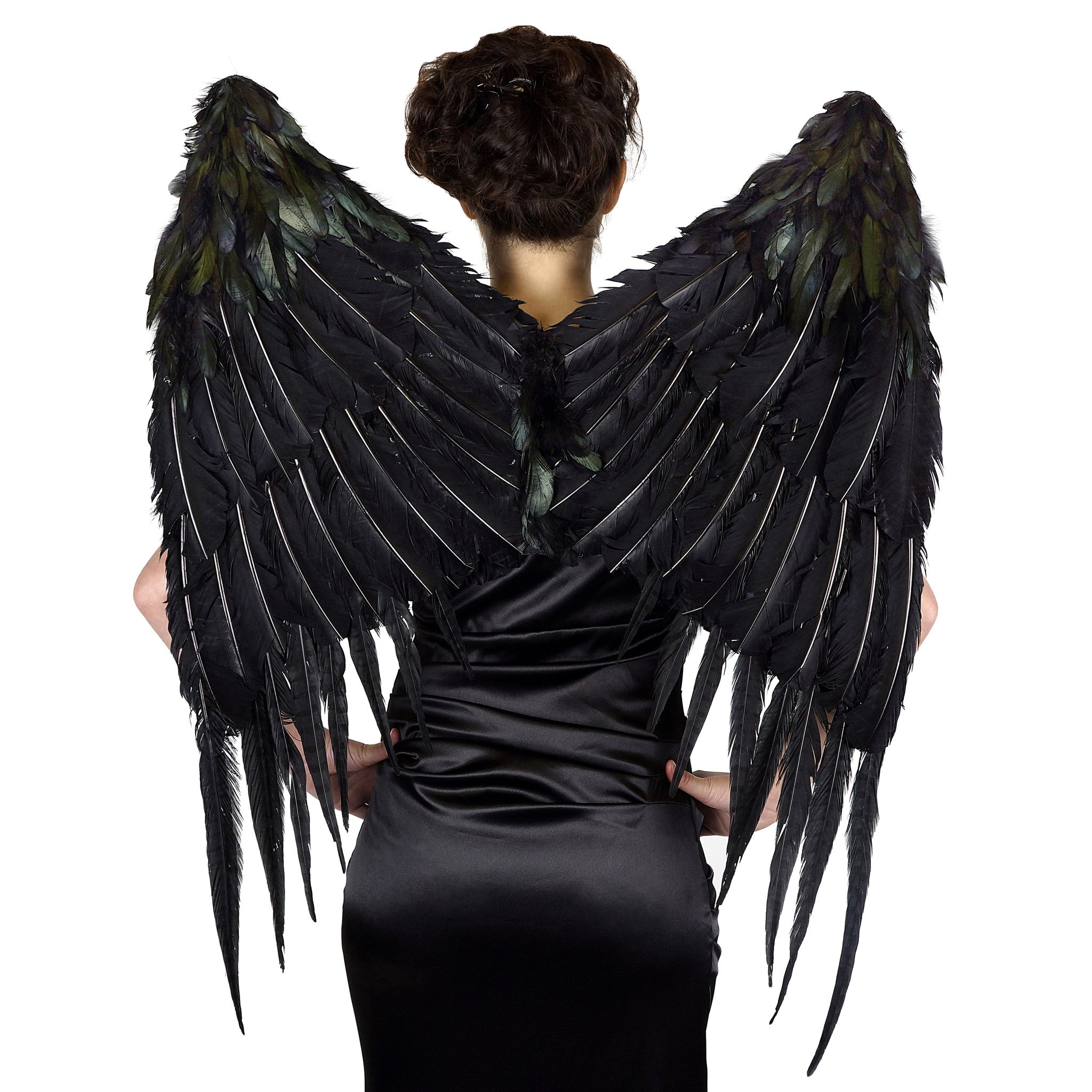 Large Maleficent Inspired Feather Wings