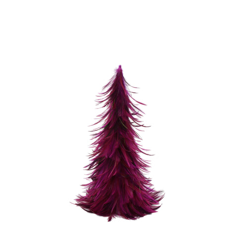 18 Inch Hackle-Flue Feather Tree
