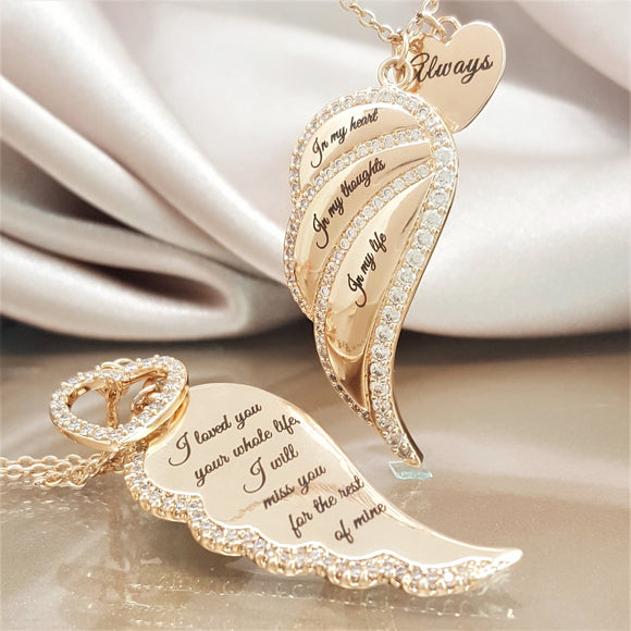 Angel Wing Necklaces For Women