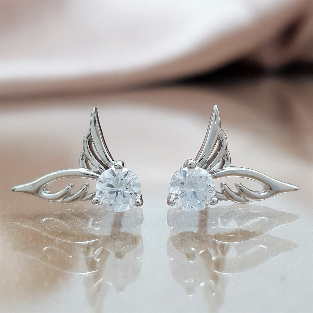 3 PACK: Angel Wings Earrings