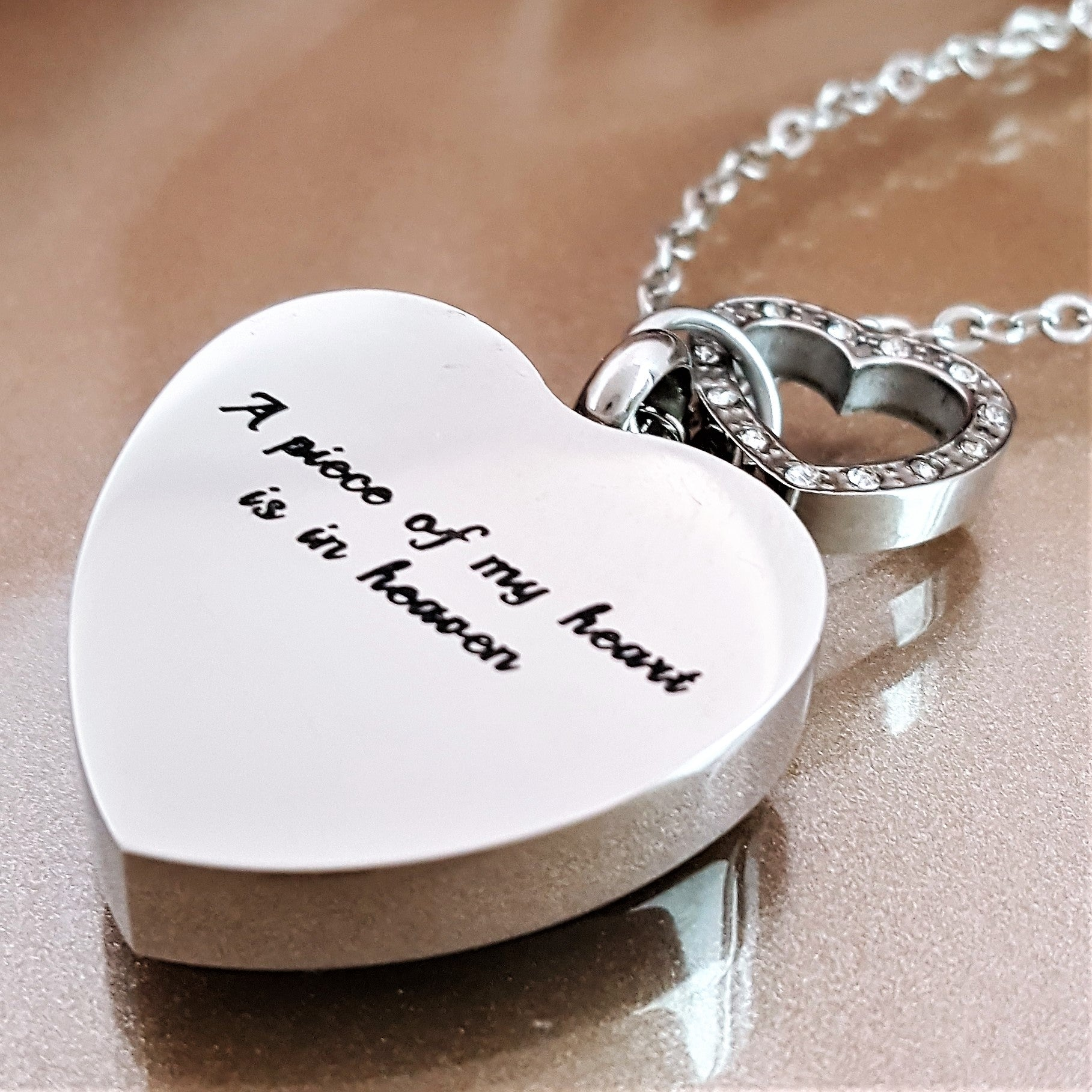 necklace infant sam forever and with steel side memorial stainless in floating letter my memory products birthstone locket baby options loss charm heart personalized