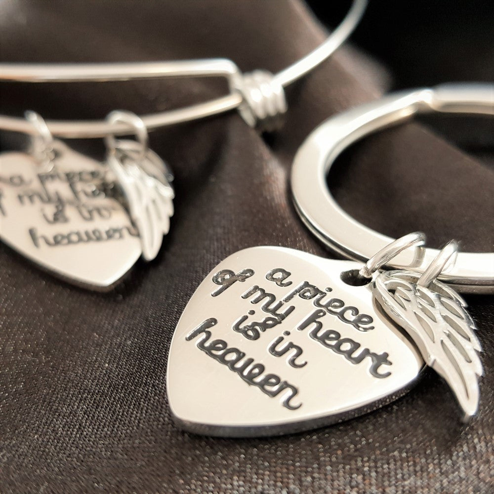 3 PACK: My Angel Above Key Chain