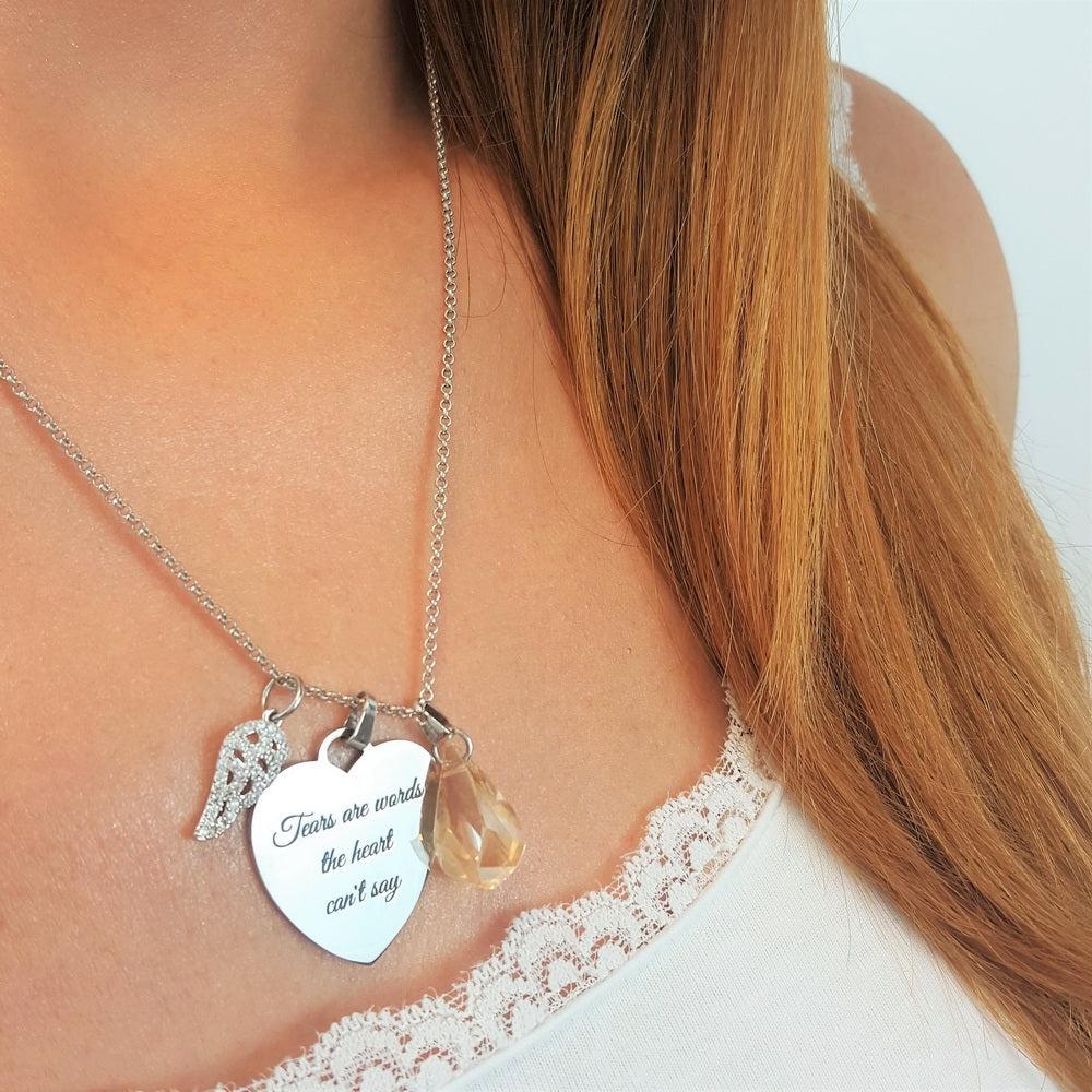 10 PACK: Straight from the Heart necklace