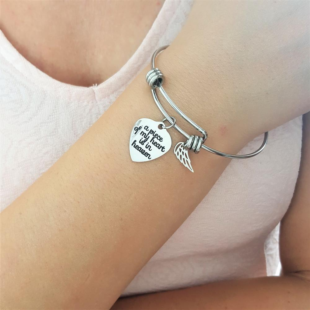 2 PACK: Piece of My Heart (Bracelet & Keychain)