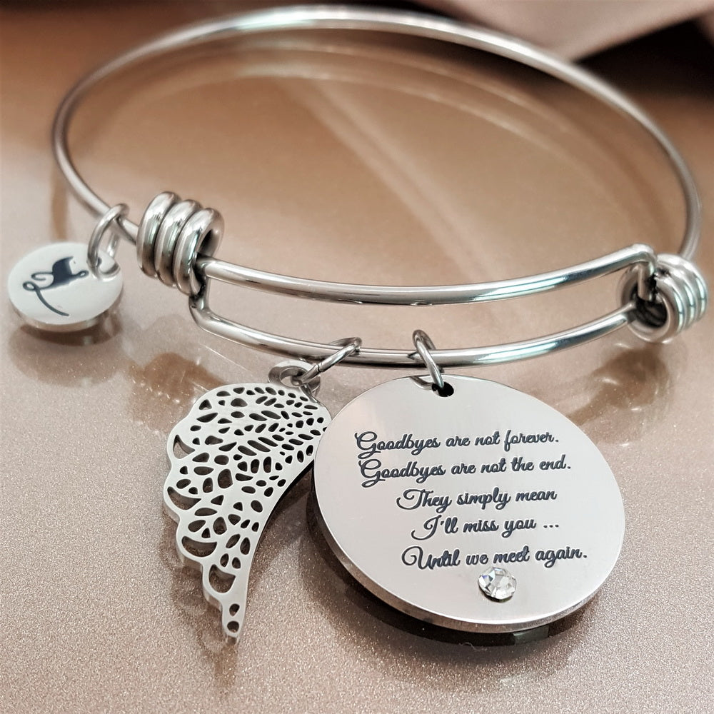 Goodbyes Are Not Forever Bracelet