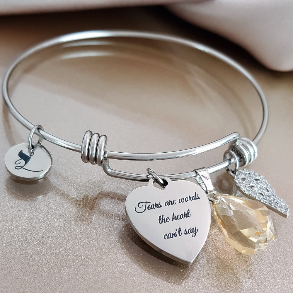 2 PACK: Straight from the Heart Bracelet & Carry You With Me Keychain
