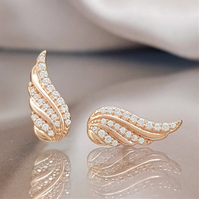Close to You Angel Wing Earrings