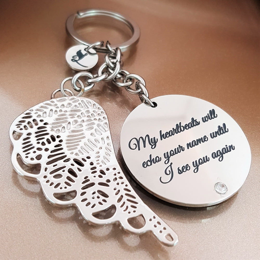 Echoes Of My Heart Keychain