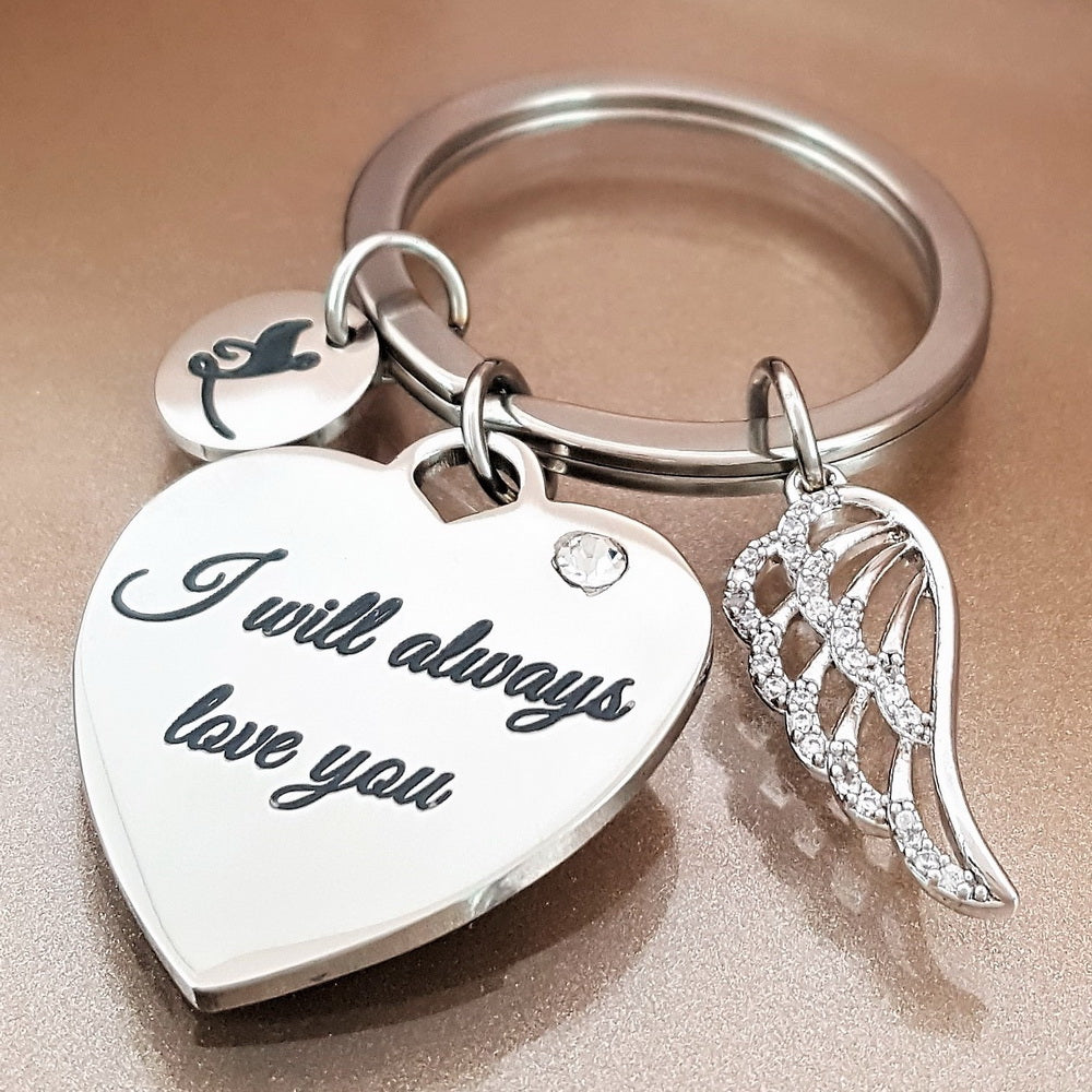 10 PACK: I Will Always Love You Keychain