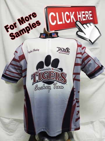 Archery Jerseys Custom Dye Sublimated for your archery team
