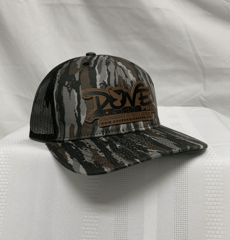 Pro Style Richardson Leather Patch Cap - Dove Designs Pro