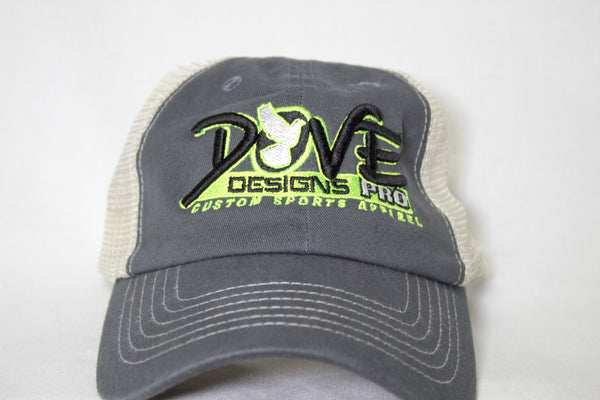 Relaxed Fit 3D Cap - Dove Designs Pro