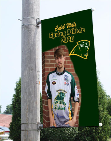 Sports Team Pole Banners - Dove Designs Pro
