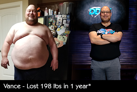 Vance 200 lbs Weight Loss