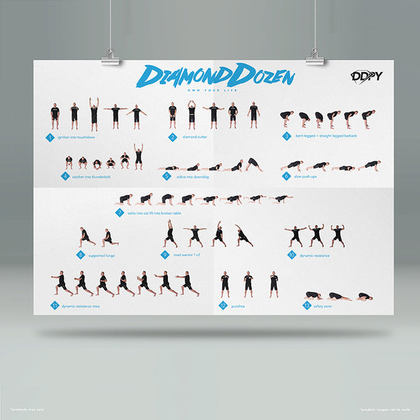 DDP Yoga DVDs Pack 1 (DVDs, Poster and Program Guide)