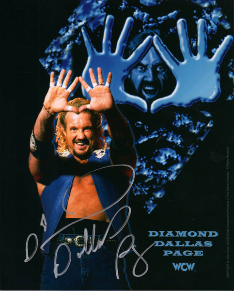 DDP Signed Autographed Photo - DDP Blue Vest Diamond Cutter
