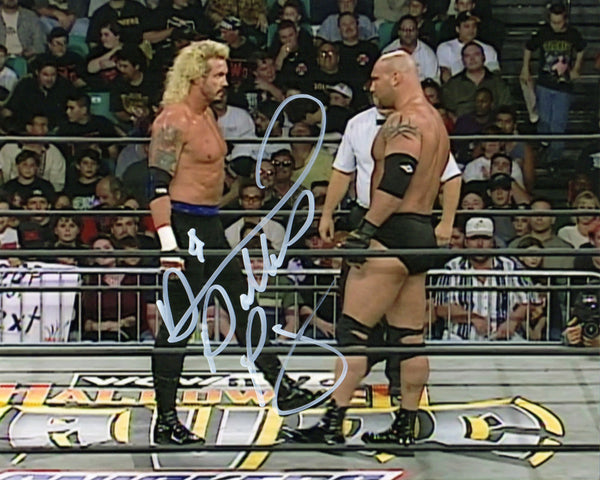 DDP Signed Autographed Photo - DDP & Goldberg