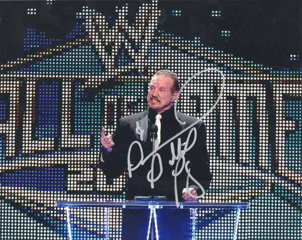 DDP Signed Autographed Photo - Jake 'The Snake' Roberts HOF Induction