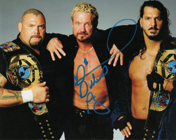DDP Signed Autographed Photo Bigelow, DDP and Kanyon... The Jersey TRIAD