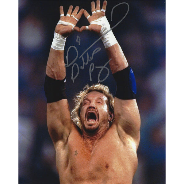 Ddp Signed Autographed Photo Diamond Cutter Symbol Ddp