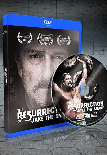 Resurrection of Jake The Snake Bluray Disc - Collectors Edition
