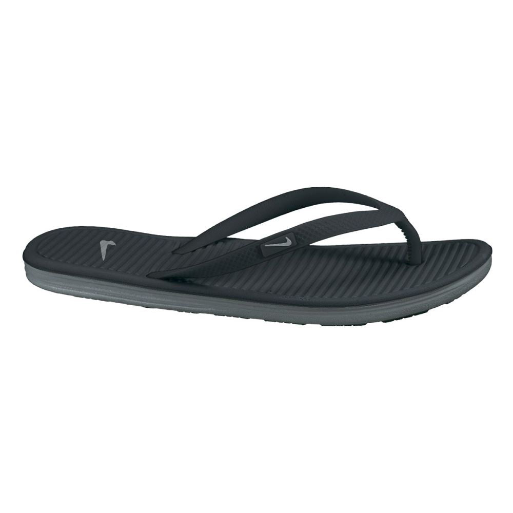 Nike Solarsoft Thong II - Black - Women's