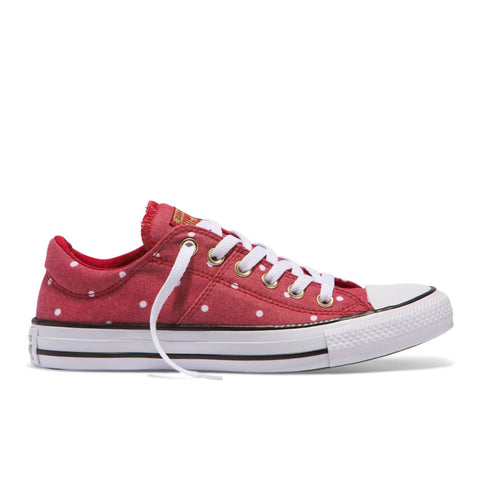c7304ec445a7 Converse - Chuck Taylor All Star Madison Mini Dots Low - Gym Red - Womens