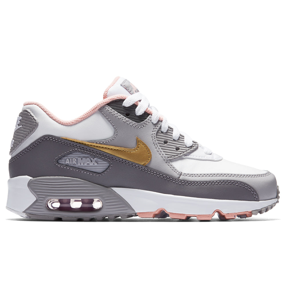 Nike - Air Max 90 Leather Girl's - Multi - Kids