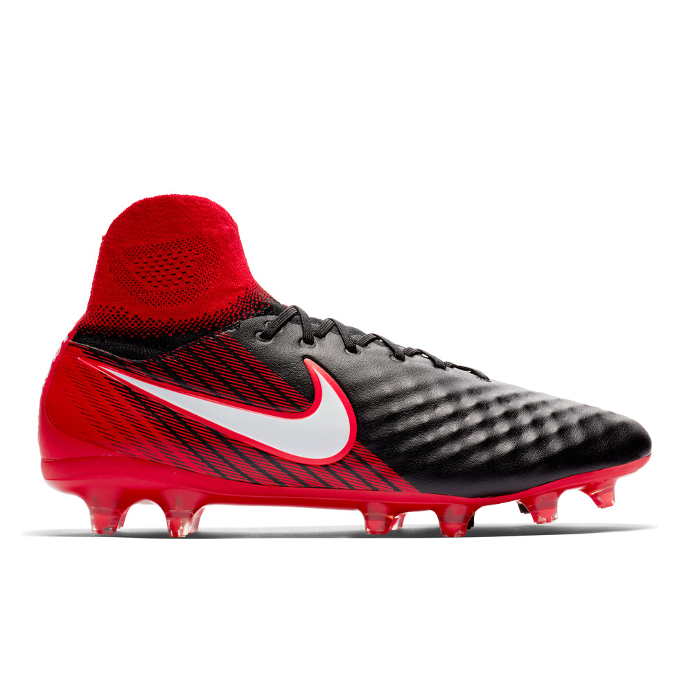 Nike - Magista Orden II Firm-Ground Football Boot - Black/Red - Mens