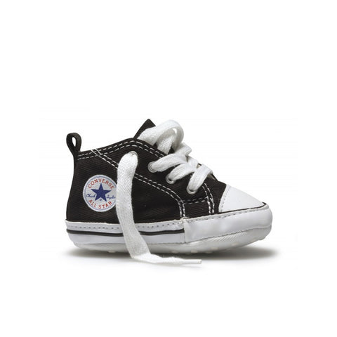 Converse - Chuck Taylor First Star Infant High Top - Black/White - Kids