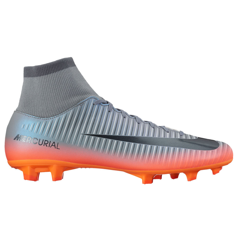 Nike - Mercurial Victory VI CR7 Dynamic Fit (FG) Firm-Ground Football Boot  - Grey - Men's