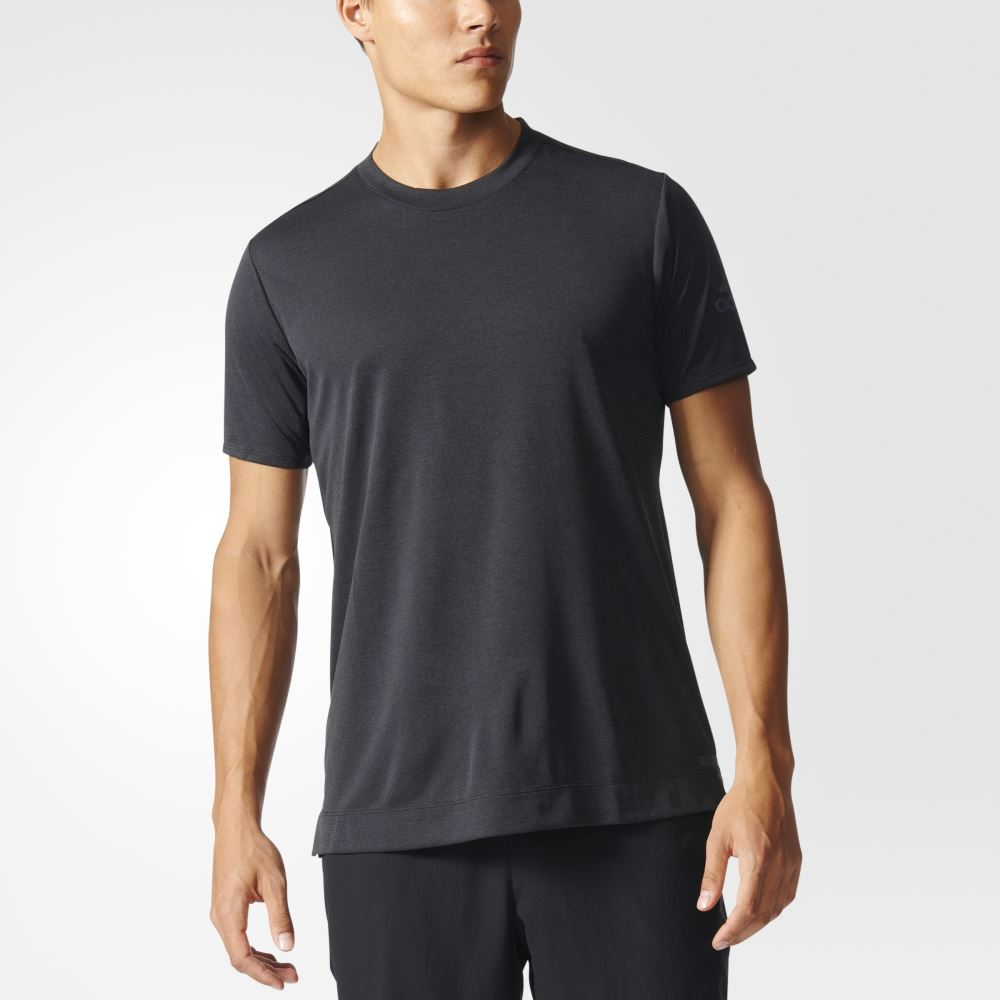 adidas FreeLift Climachill Tee - Black - Men's