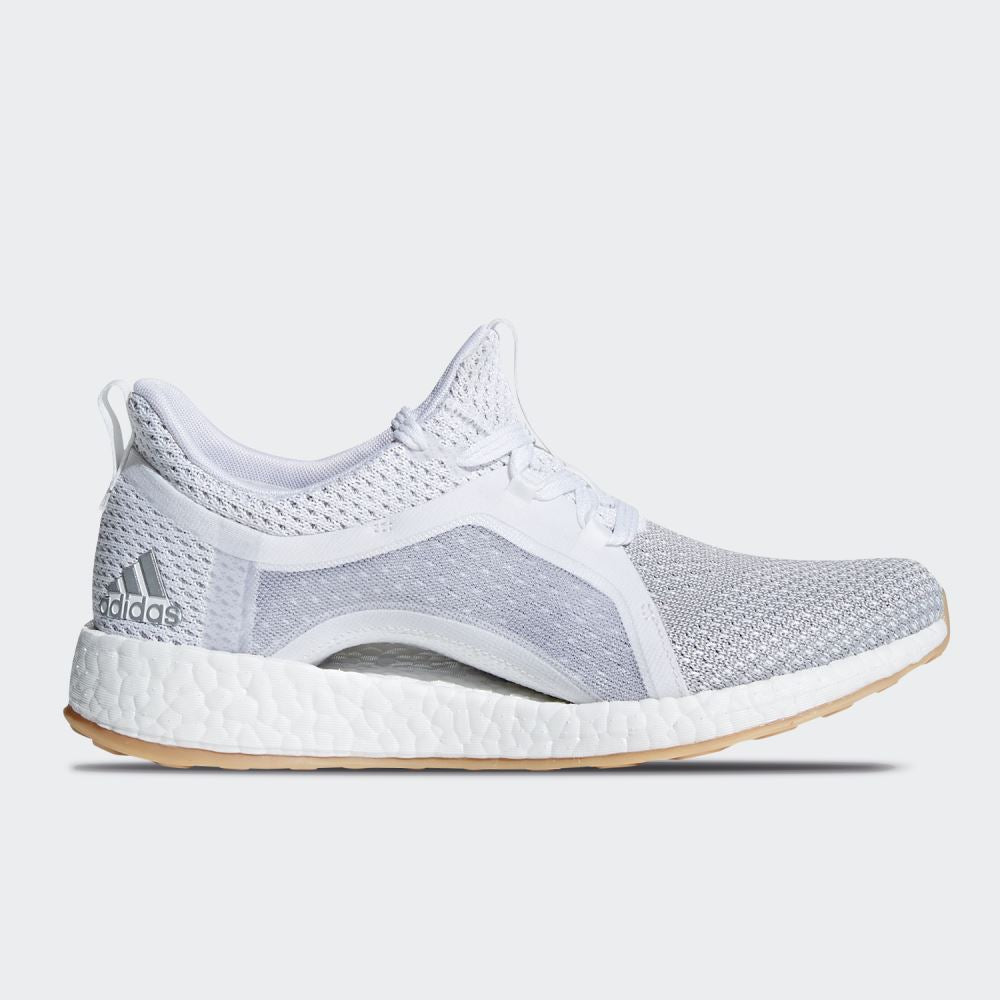 4b494f20b73ba adidas - Pureboost X Clima - White Grey - Womens – Stirling Sports