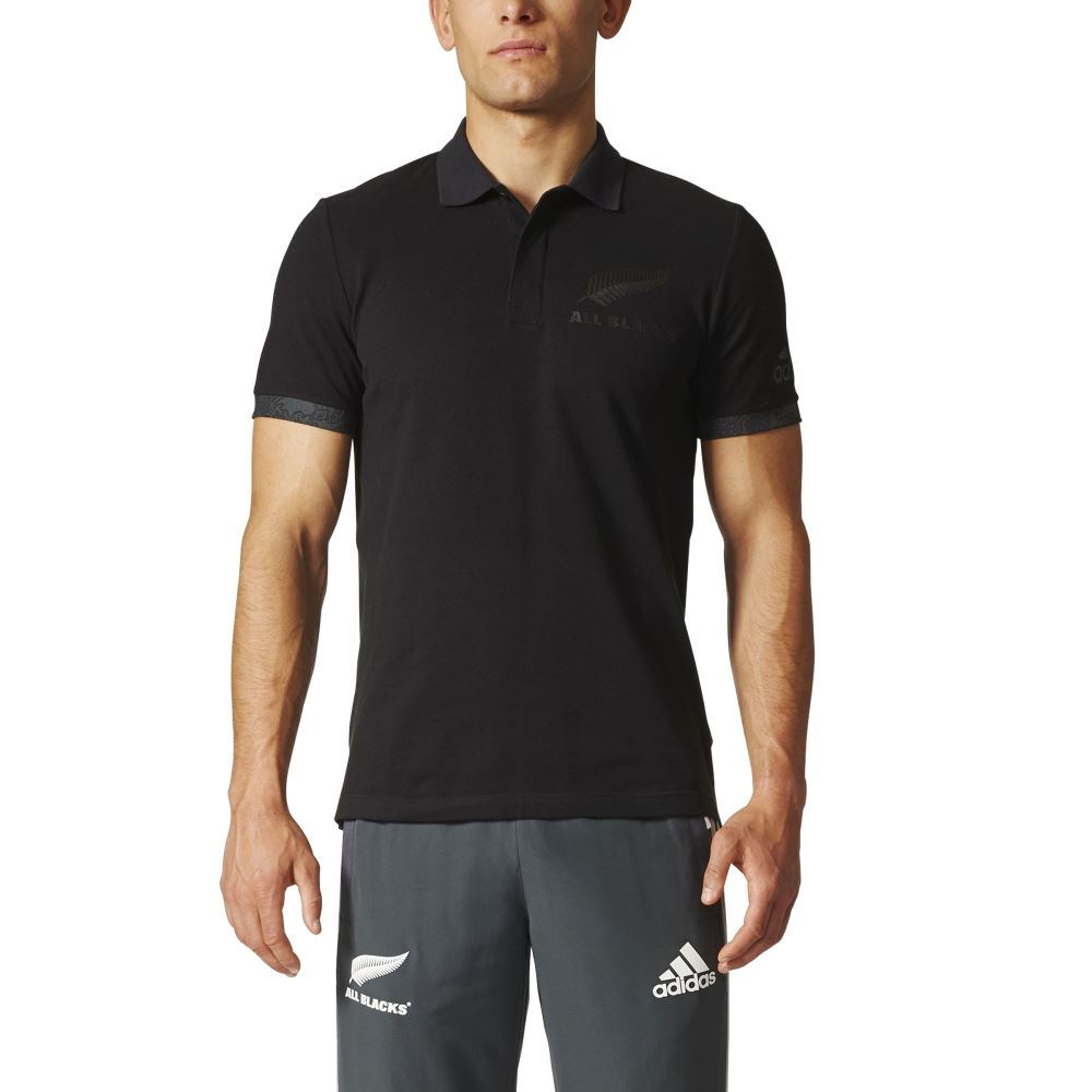 adidas all blacks territory polo black mens stirling sports. Black Bedroom Furniture Sets. Home Design Ideas