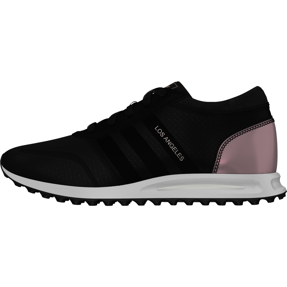 adidas Originals Los Angeles Shoes - Black - Women's
