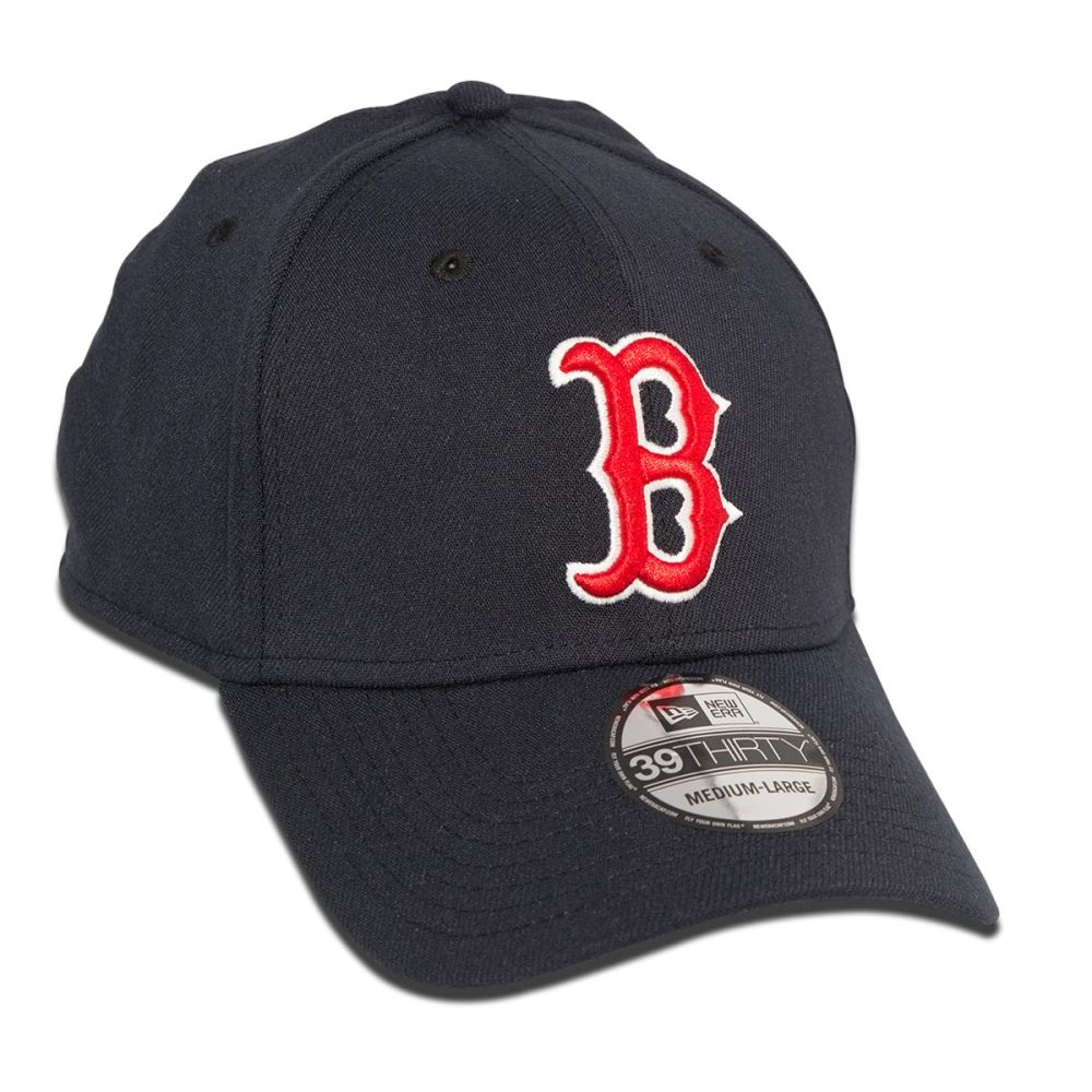 b9b3517bb ... ebay new era 39thirty boston red sox cap navy 332da a7879 ...