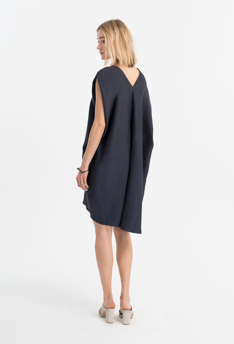 Marcellamoda-Linen-Dress-Back