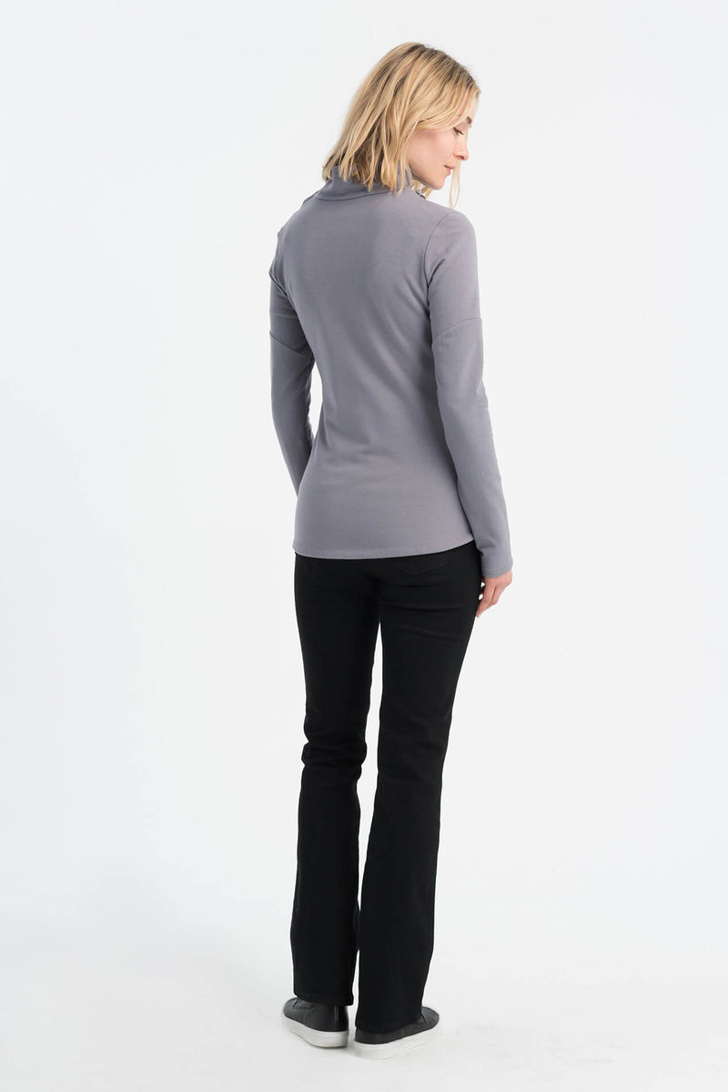 Asymmetric Zipper Sweatshirt