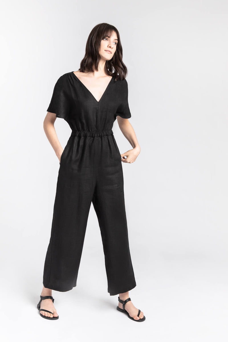 Black Zina Jumpsuit