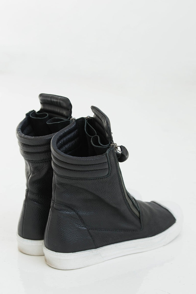 Stylish Zipper Boots Shoes Marcellamoda