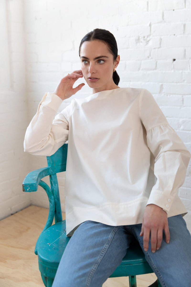 Puff Sleeve Blouse Clothing Marcellamoda