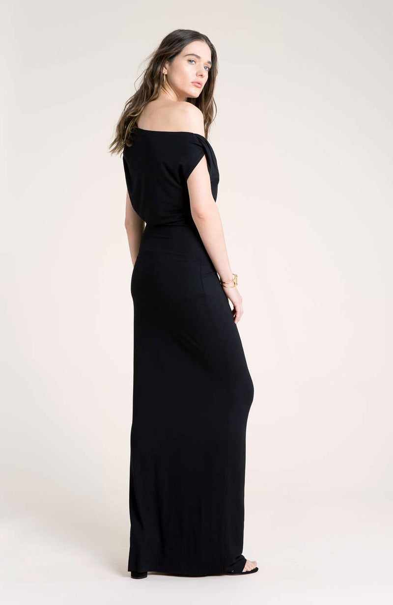 Maxi Evening Dress Clothing Marcellamoda