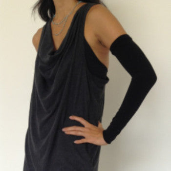 Black KISO sleeve, sleeveless tank