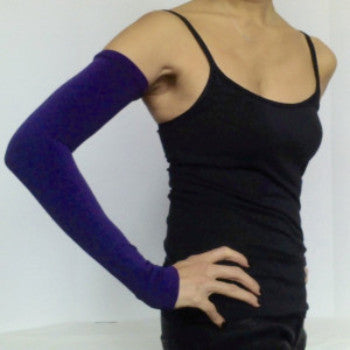 Purple KISO sleeve with yoga wear